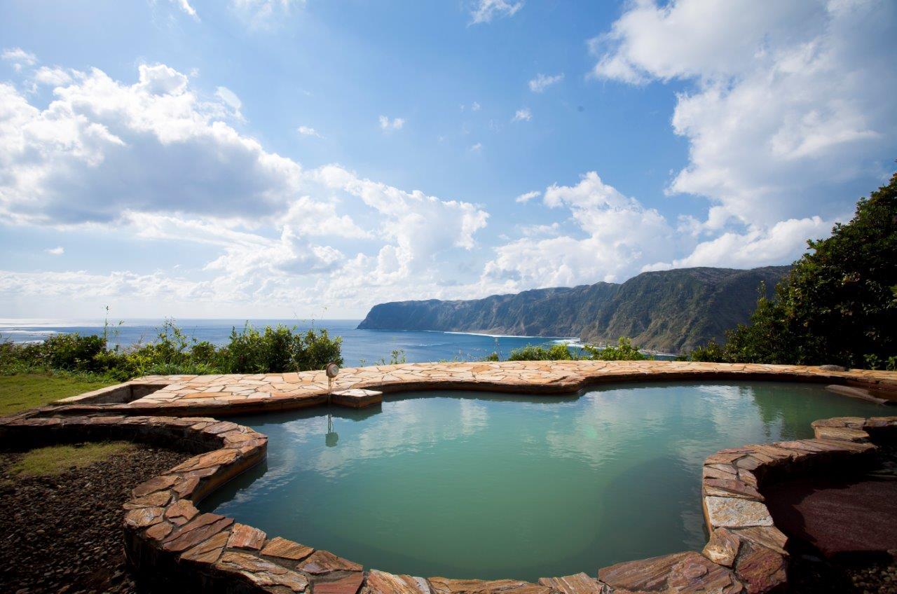 八丈島の温泉